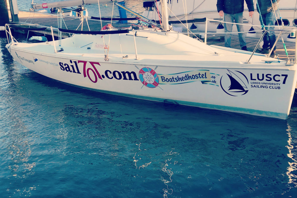 Our sponsored yacht
