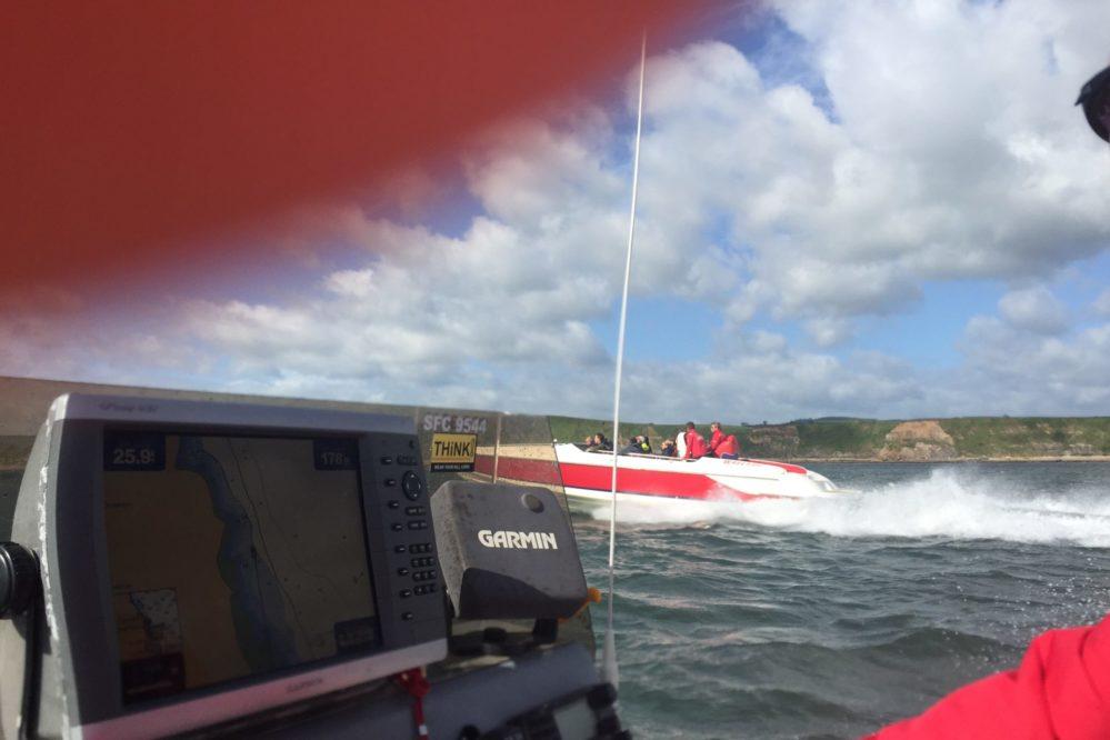 Catch a speedboat