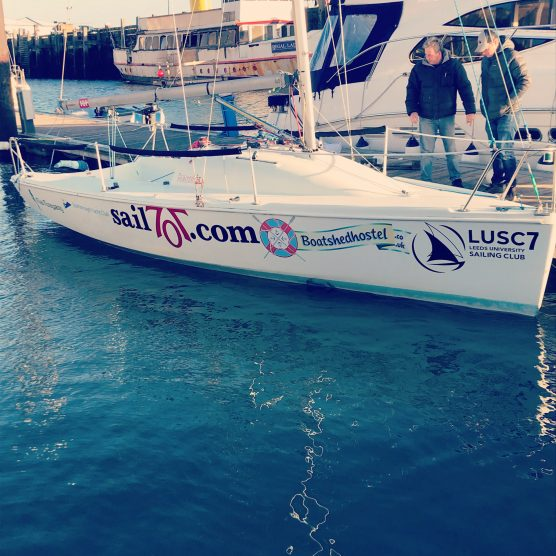 We are sponsors of this lovely boat